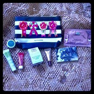 7 Piece High-end Skincare Set + Sephora Bag!